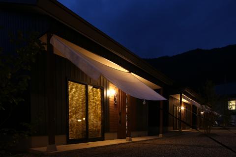 Minakami Campground Riverstone